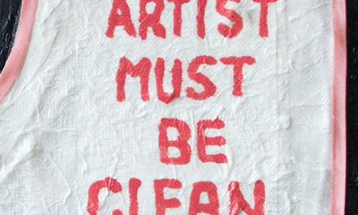 Art/Artist Must Be Clean